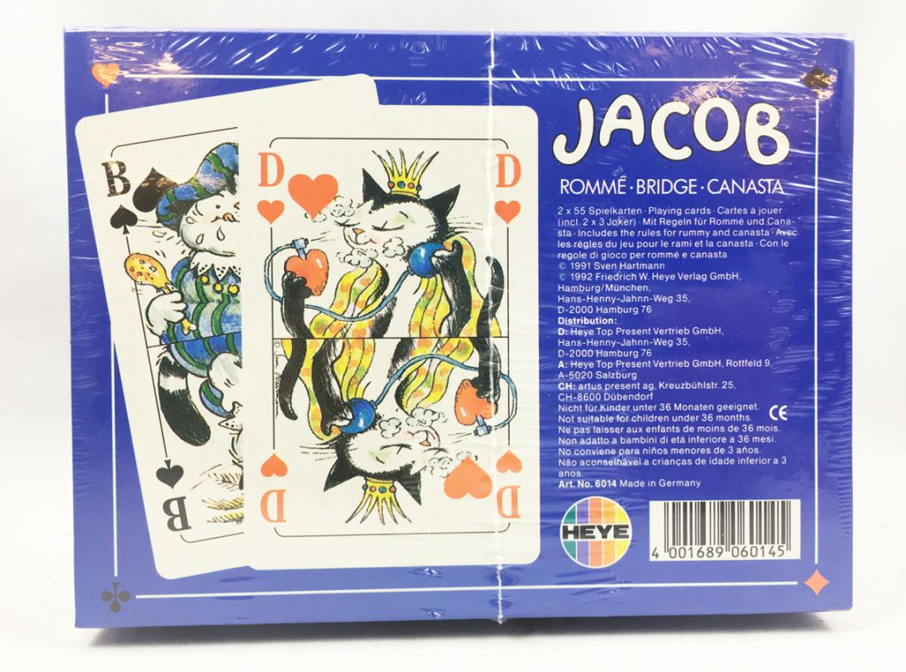 Kater Jacob - Heye Playing Cards (2 sets)
