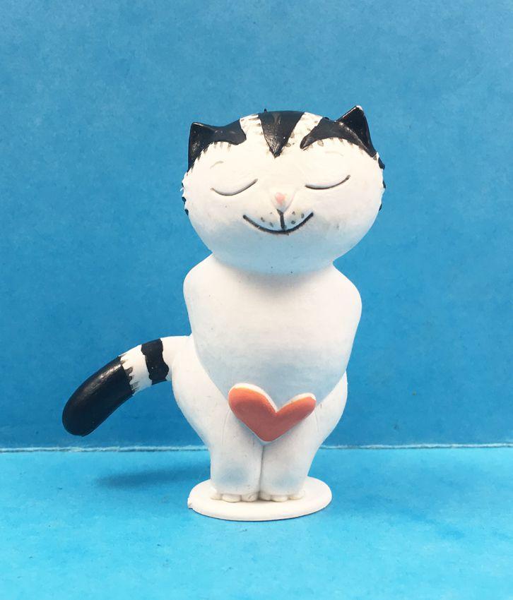 Kater Jacob - PVC figure - Jacob with Heart