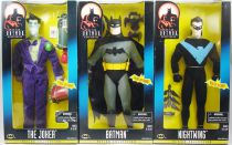 Kenner - Batman Série animée - Batman, Joker, Nightwing (Action Collection) 30cm