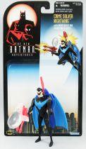 Kenner - Batman Série animée - Crime Solver Nightwing (loose with cardback)