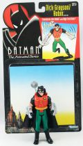 Kenner - Batman The Animated Series - Dick Grayson Robin (loose with cardback)