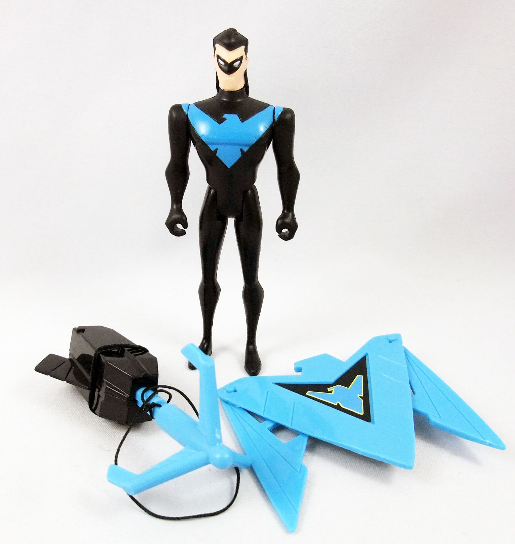 Kenner - Batman The Animated Series - Gotham City Enforcement Nightwing (loose))