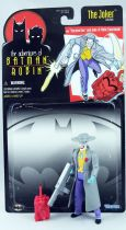 Kenner - Batman The Animated Series - Machine Gun Joker (loose with cardback)