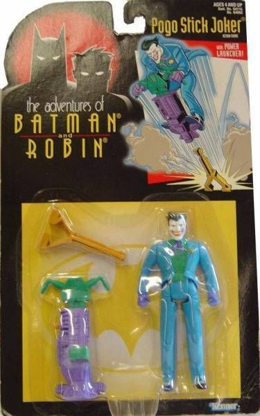Kenner - Batman The Animated Series - Pogo Stick Joker