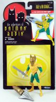 Kenner - Batman The Animated Series - Ra\'s Al Ghul (loose with cardback)