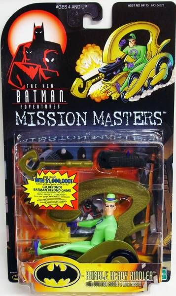 Kenner - Batman The Animated Series - Rumble Ready Riddler