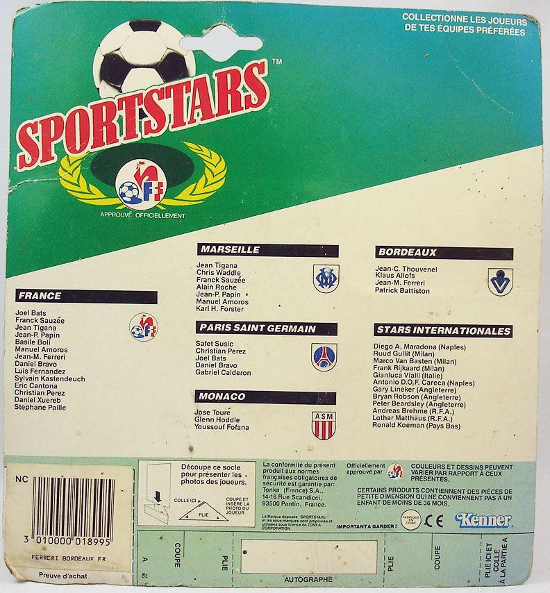 Kenner - Sportstars - Girondins de Bordeaux - Jean-Marc Ferreri
