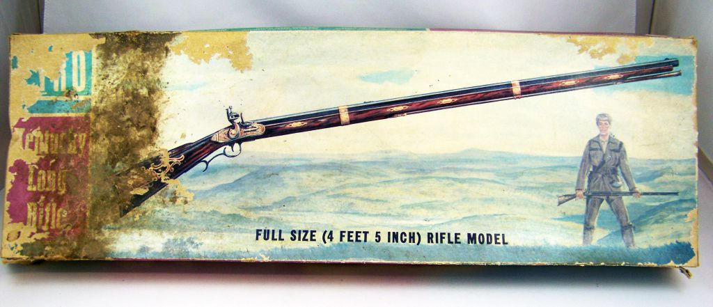 Kentucky Rifle (4 feet 5 inch) - Pyro Model Kit