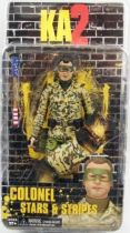 Kick-Ass 2 - NECA - Colonel Stars & Stripes (hood down)