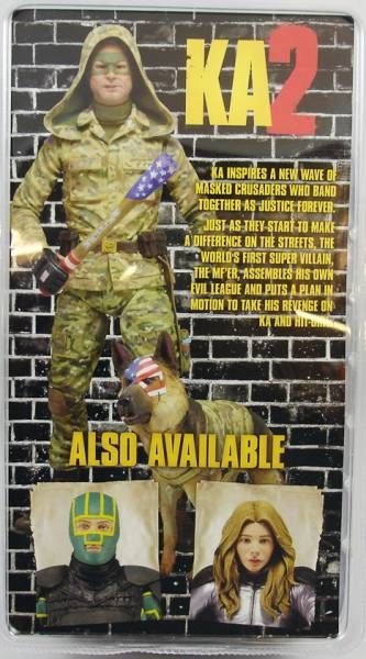 Kick-Ass 2 - NECA - Colonel Stars & Stripes (hood up)