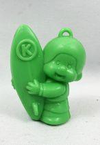 Kiki - Bonux - Kiki Surfeur figurine verte