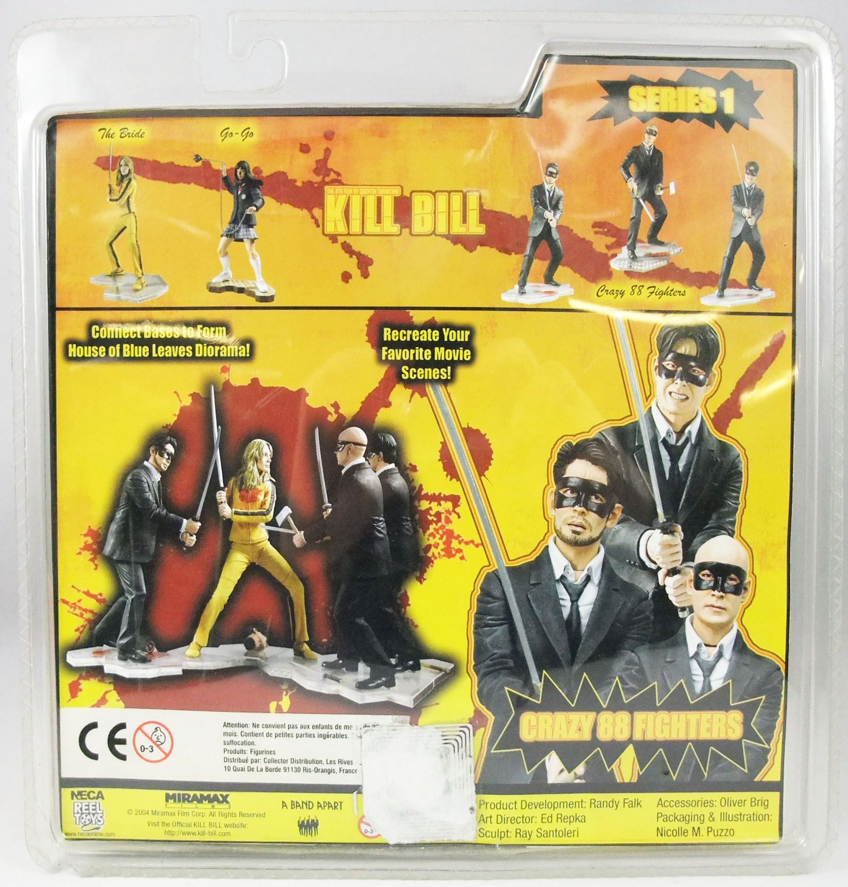 Kill Bill - Neca - Crazy 88 Fighter (Type B)