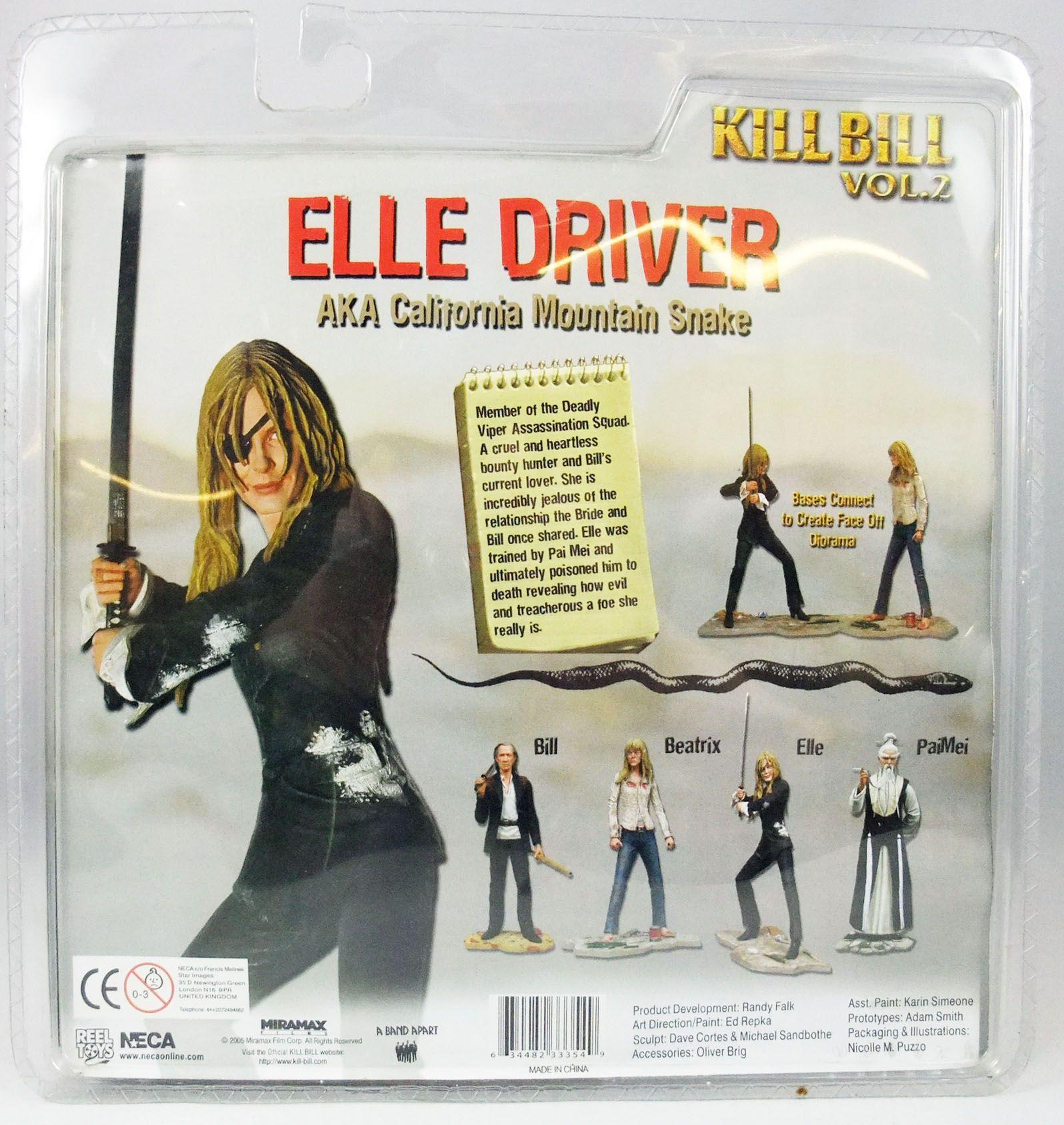 Kill Bill - Neca - Elle Driver