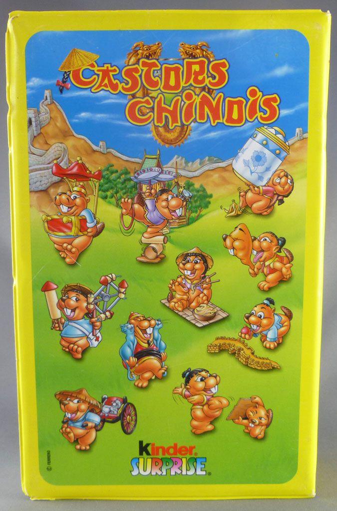 Kinder Surprise (Ferrero) 2000 - Les Castors Chinois - Coffret de 10 figurines