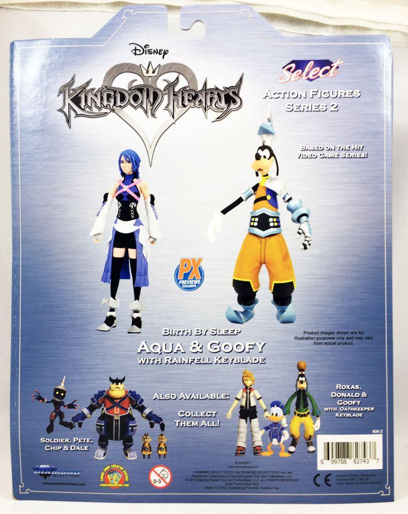 Kingdom Hearts - Diamond Select - Aqua & Goofy