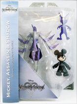 Kingdom Hearts - Diamond Select - Black Coat Mickey, Assassin & Shadow