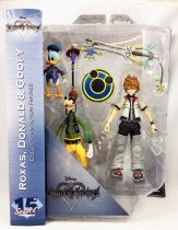 Kingdom Hearts - Diamond Select - Roxas, Donald & Goofy