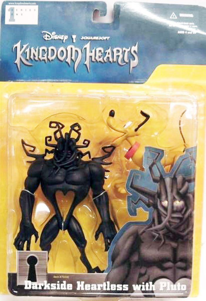 Kingdom Hearts - Squaresoft - Darkside Heartless & Pluto