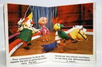 Kiri le Clown - Mini-Album Editions Gautier-Languereau La leçon d\'équitation de Kiri le Clown -  ORTF 1970