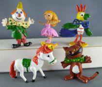 Kiri the Clown - Jim Figure - Complete Set of 5 Figures