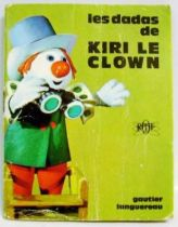 Kiri the Clown - Mini-Comics Gautier-Languereau Editions ORTF 1970 The  Kiri the Clown\'s horse