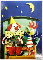 Kiri the Clown - Yvon Post Card (1967) - Trot, trot, my mare!