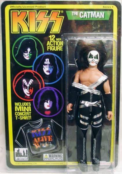KISS - Mego-style 12\'\' Action Figures set - Gene, Peter, Ace, Paul
