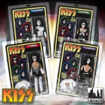 KISS - Set de 4 figurines articulées 35cm \'\'Mego-style\'\' - Gene, Peter, Ace, Paul