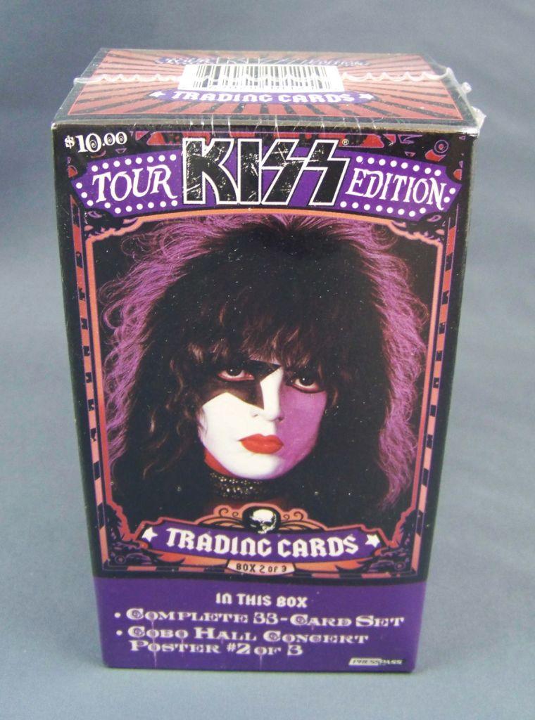 KISS Tour Edition - Trading Cards Press Pass 2009 - Set n°2 de 33 cartes 01