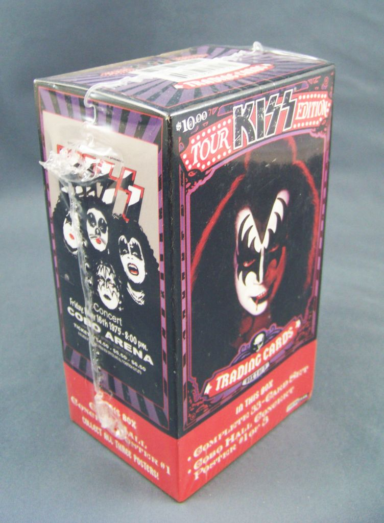 KISS Tour Edition - Trading Cards Press Pass 2009 - Set n°1 de 33 cartes 02