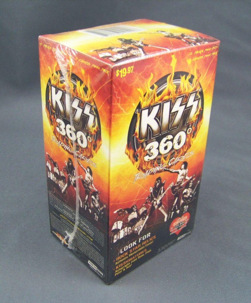 KISS 360° - Trading Cards Press Pass 2009 - Set de 90 cartes 02