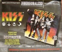 KISS Destroyer - 3-D Sculpture Wall Plaque