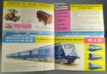 Kitmaster 1961 Folded Catalogue Locos Wagons Coaches Model Kits Mint condition
