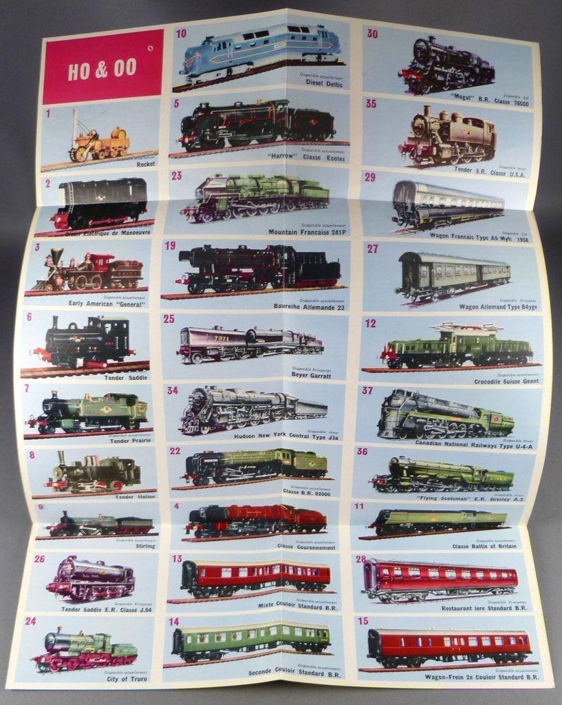 Kitmaster Catalogue Dépliant 1961 Locomotives Wagons Voitures Ho Etat Neuf