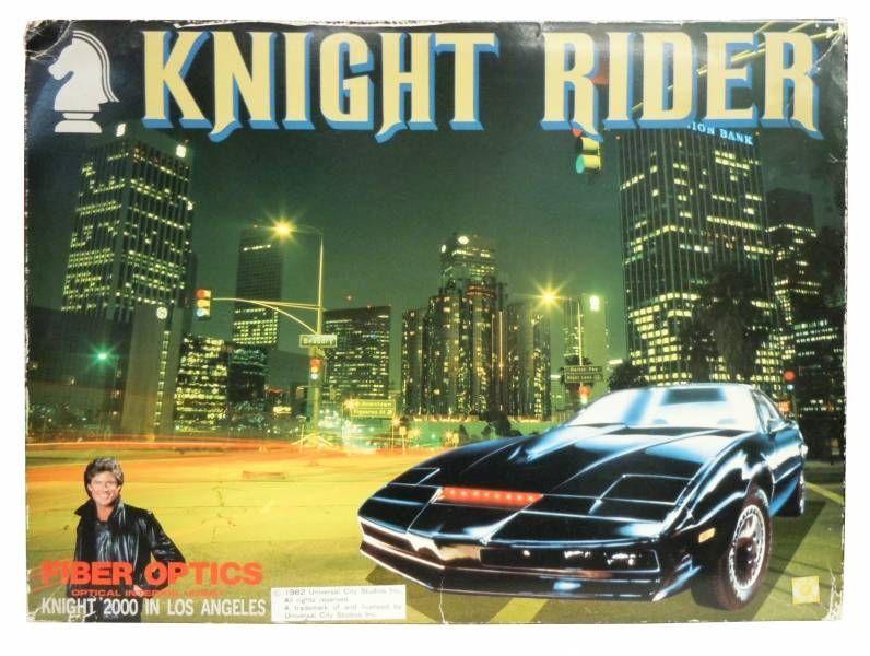 Knight Rider - Aoshima - Knight 2000 (Fiber Optics / Optical Interior Hobby )