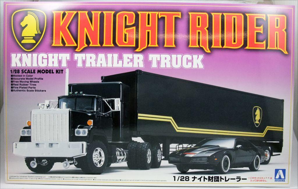 Knight Rider - Aoshima - Knight Trailer Truck 1:28 scale model kit