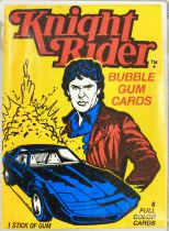 Knight Rider - Donruss Trading Bubble Gum Cards (1982) - Complete series of 55 cards