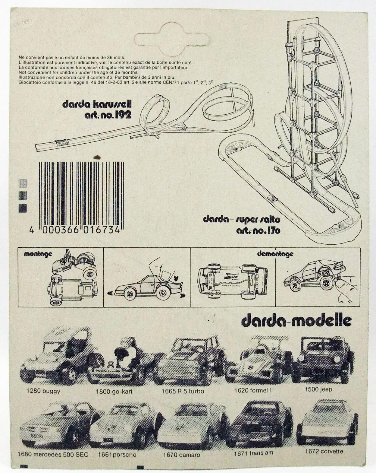 Knight Rider K2000 - Darda Motor - K.I.T.T. (neuve sous blister)