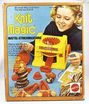 Knit Magic - Knitting machine - Mattel 1974