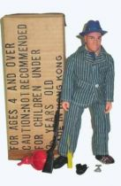Kojak - Action figure 8\'\' - Excel Toys 1976 - Mint in box