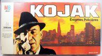 """Kojak - Jeu de societé \""""Enigmes policières\"""" - MB Jeux 1975"""