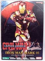 Kotobukiya - Civil War Statue PVC 1/10ème - Iron Man Mark 46