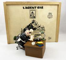 L\'Agent 212 - Série Limitée Création / Ed. Dupuis (2005) - Figurine Plomb (250 ex.)