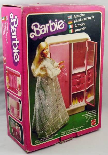 L\'Armoire de Barbie - Mattel 1978 (ref.2153)