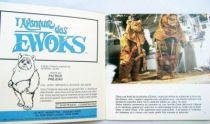 L\'Aventure des Ewoks - Record-Book 45s - Disques Ades 1985