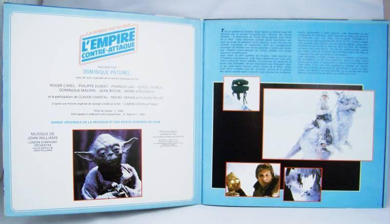 L\'Empire contre-attaque - Record-Book LP - Disques Ades 1983