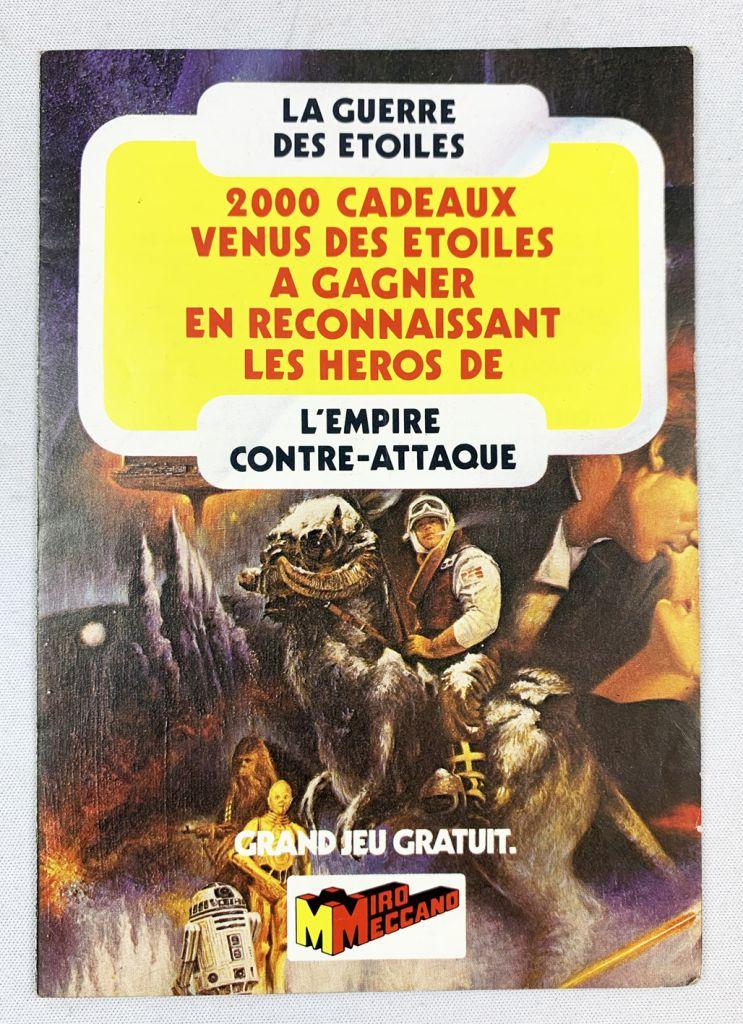 L\'Empire contre-attaque (ESB) 1980 - Miro-Meccano - Contest-Fold