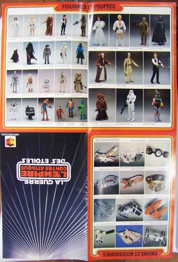 L\'Empire contre-attaque 1981 - Miro-Meccano - Catalogue-Poster 03