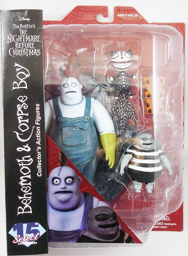 L\'Etrange Noël de Mr Jack - Diamond Select - Behemoth & Corpse Boy