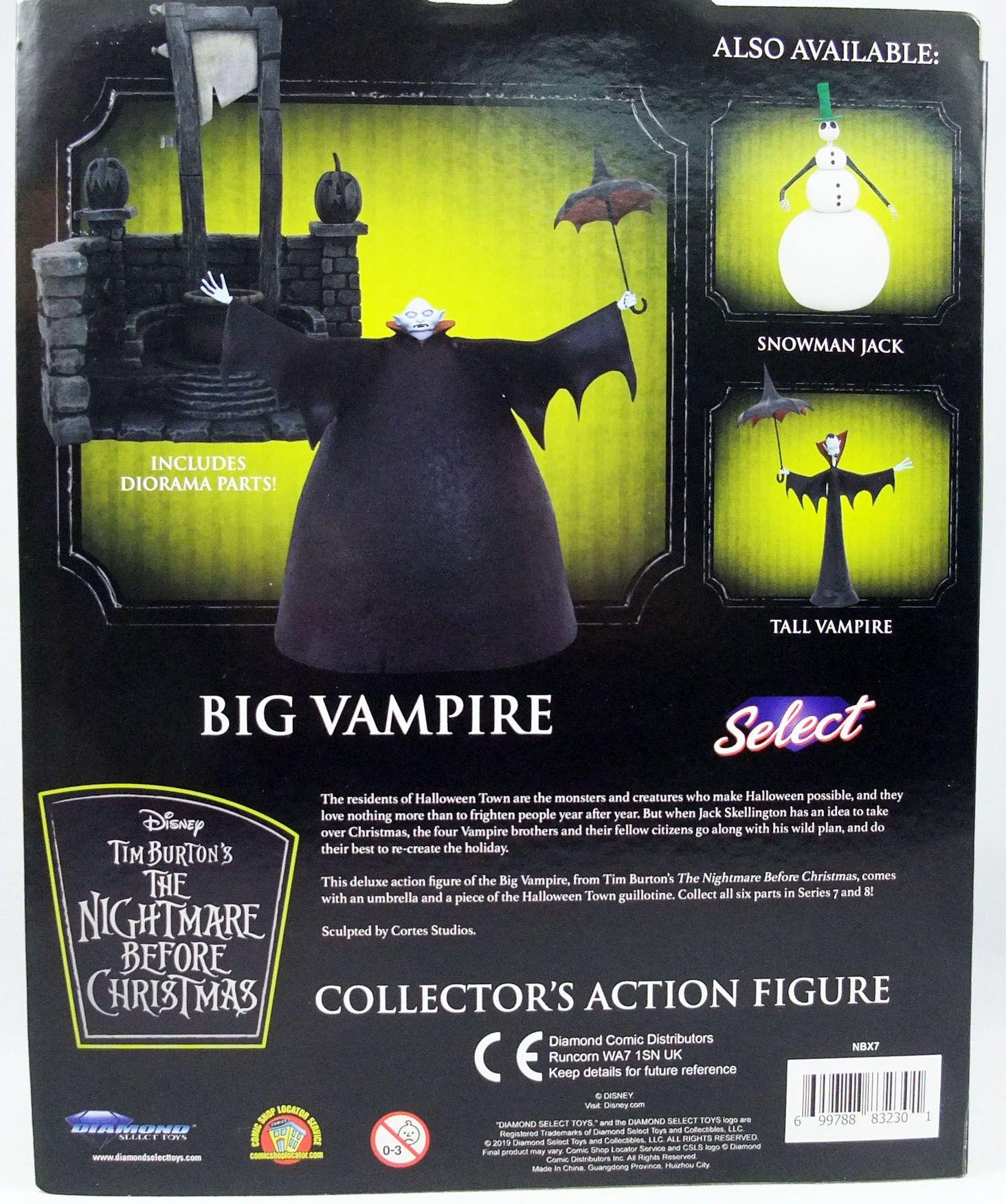 L\'Etrange Noël de Mr Jack - Diamond Select - Big Vampire